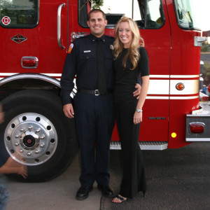 Firefighter Nicole Christian