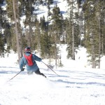 Arizona Snowbowl Skier Photo