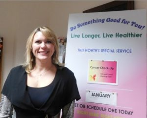 Leslie Horton has her Finger on the Pulse County Health